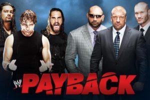 WWE Payback 2014 – I Quit!