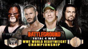 WWE Battleground 2014 – SPOILER ALERT: Cena Retains!