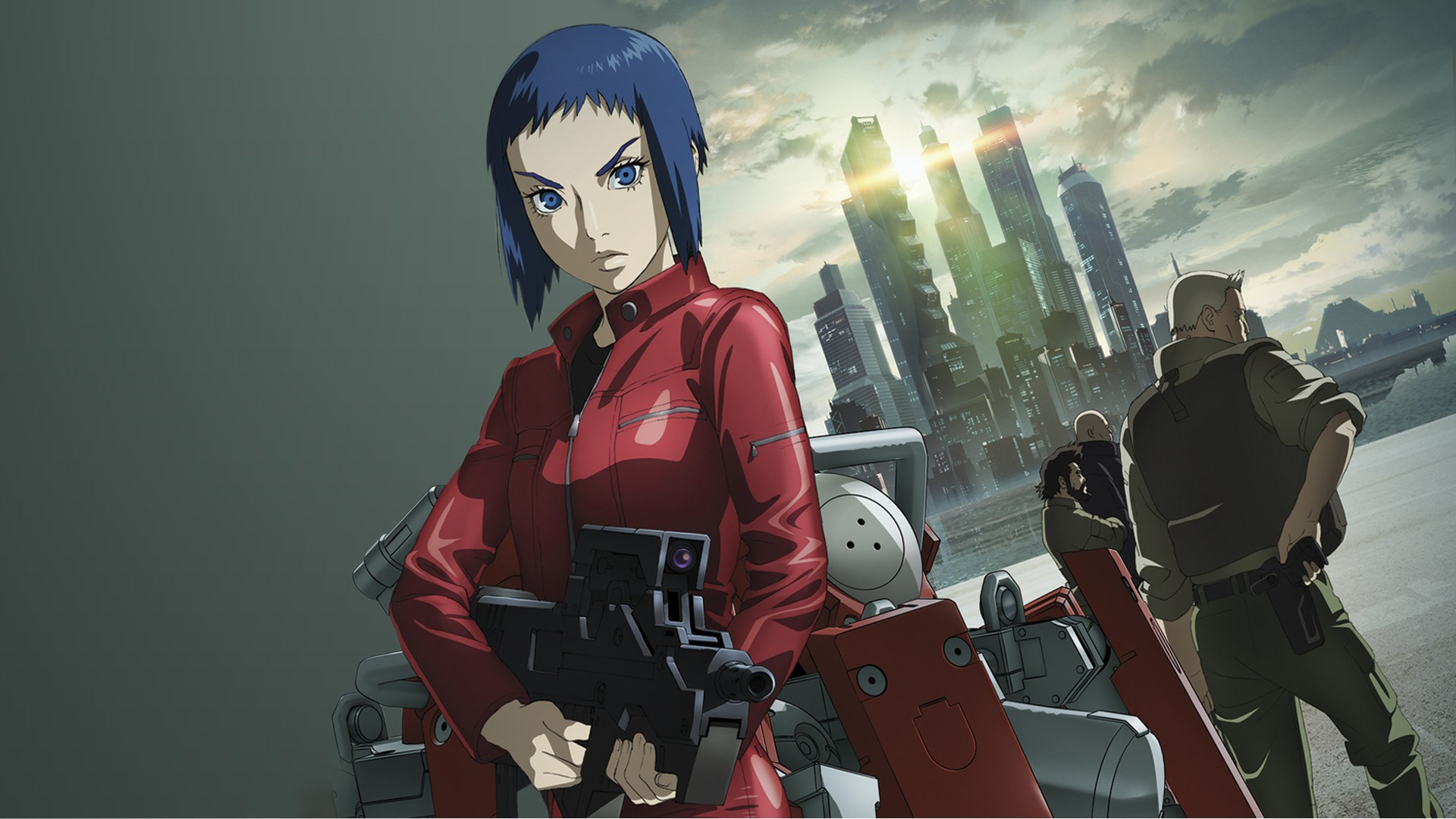 Anime Club Ghost In The Shell Arise Modern Neon Media