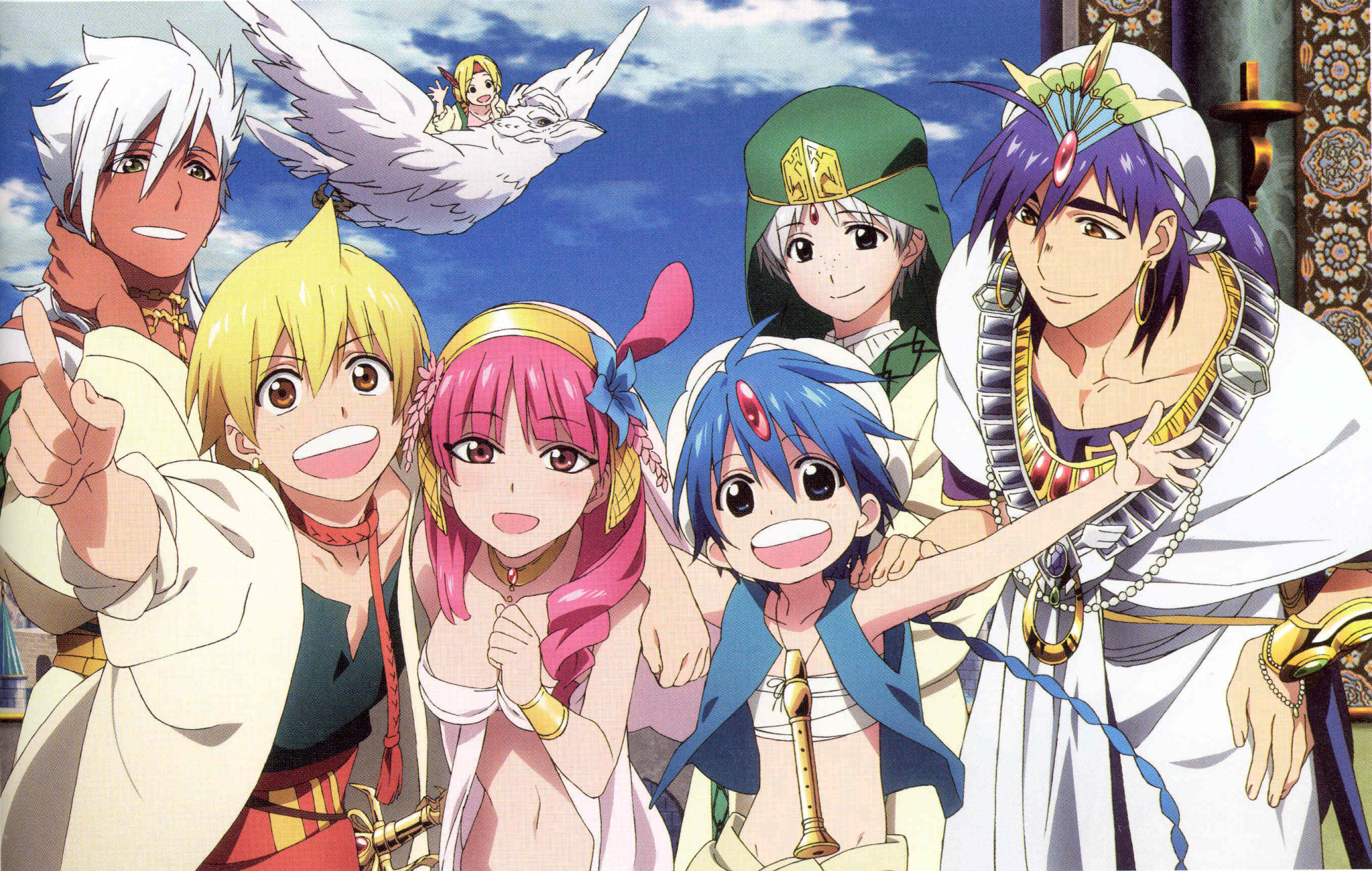 Anime Club Magi The Labyrinth Of Magic Modern Neon Media
