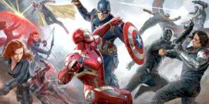 Captain America Civil War: #TeamIronman vs #Teamcap