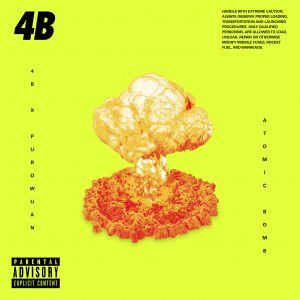 """4B Drops a 2nd Dose of Chaos """"Atomic Bomb"""" For His New """"Explosive"""" EP"""